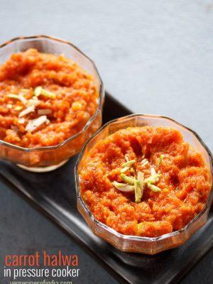 gajar halwa in pressure cooker recipe