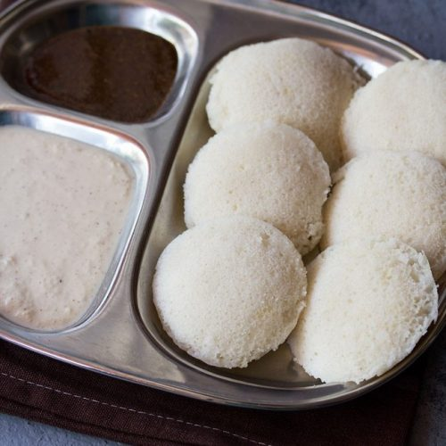 instant idli recipe with poha, instant poha idli recipe