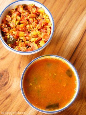 thakkali rasam, instant tomato rasam recipe