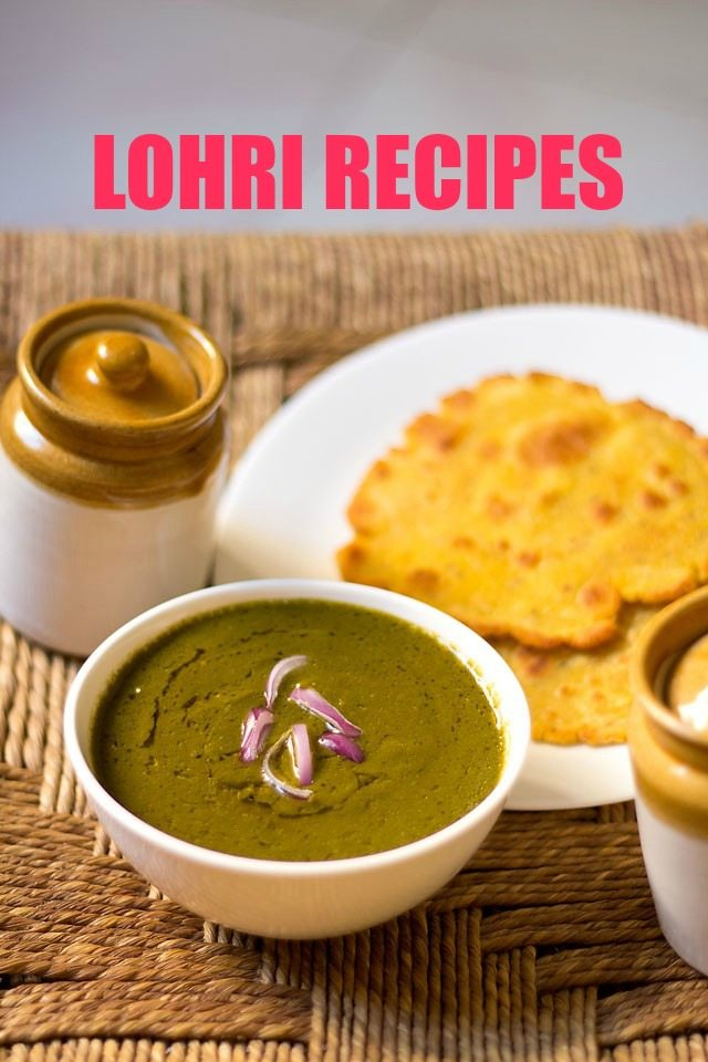 lohri recipes – collection of 25 lohri festival recipes