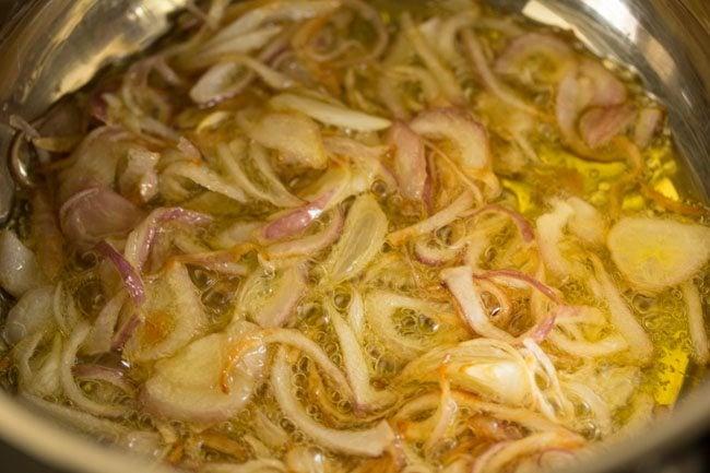 onions to make nei choru recipe