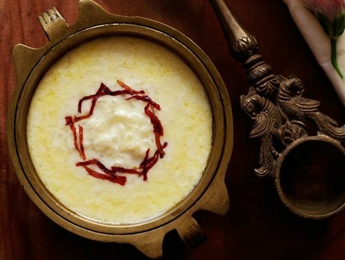 rice payasam recipe
