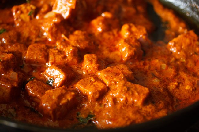 paneer ghee roast recipe