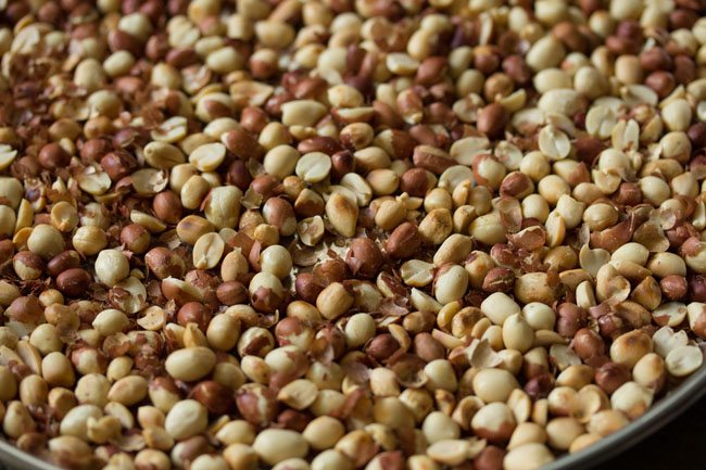 peanuts for preparing peanut chikki recipe