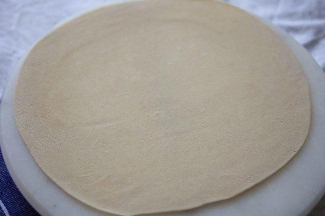 making paneer kathi roll recipe