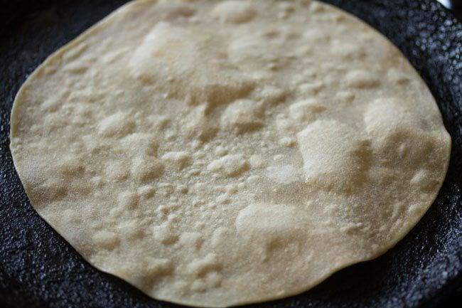 roti for making paneer kathi roll recipe