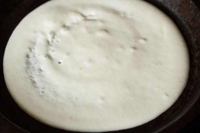 batter for preparing masala uttapam recipe