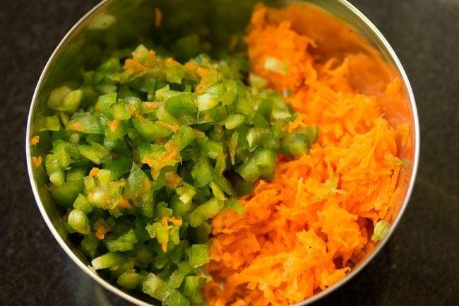 veggies to make veg mayo sandwich recipe