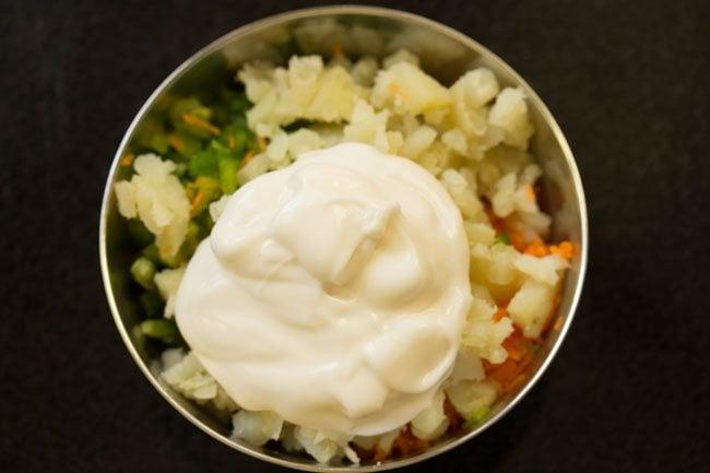 mayonnaise for making veg mayo sandwich recipe