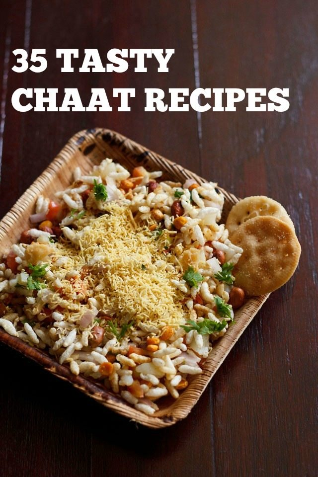 chaat recipes, chaat snacks recipes