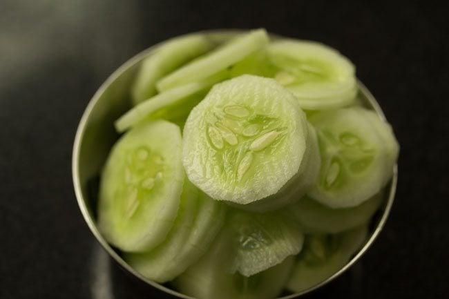 cucumber for cucumber sandwich recipe