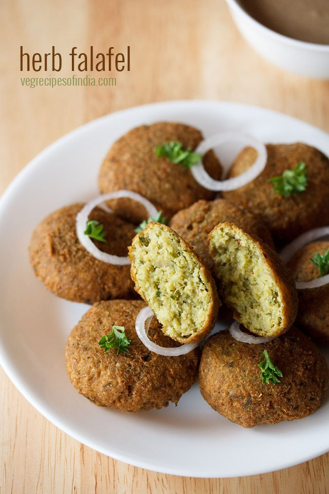 herb falafel