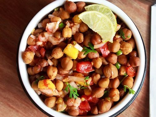 kala chana chaat recipe