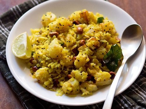 potato poha recipe