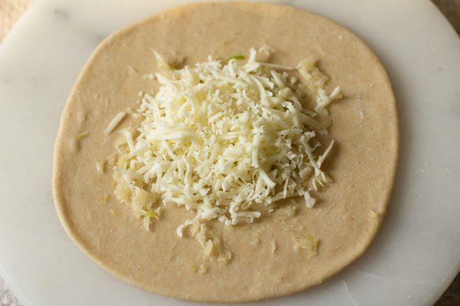 cheese for preparing cheese garlic naan recipe
