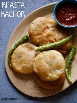 kachori recipe, how to make khasta kachori recipe | moong dal kachori