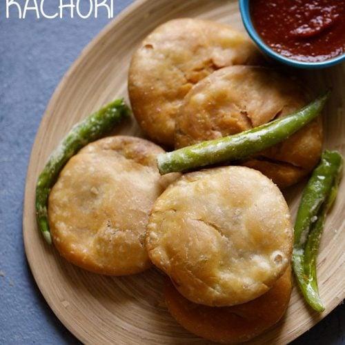kachori recipe, khasta kachori recipe, moong dal kachori recipe