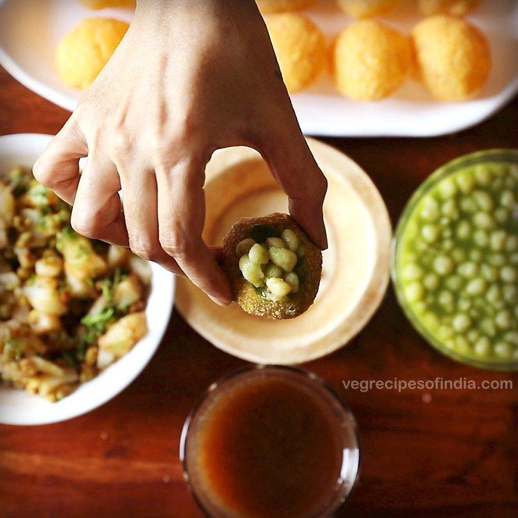 Mumbai pani puri recipe