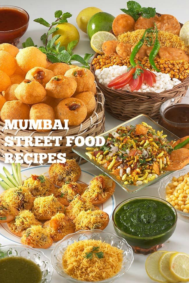 mumbai street food recipes, indian street food recipes