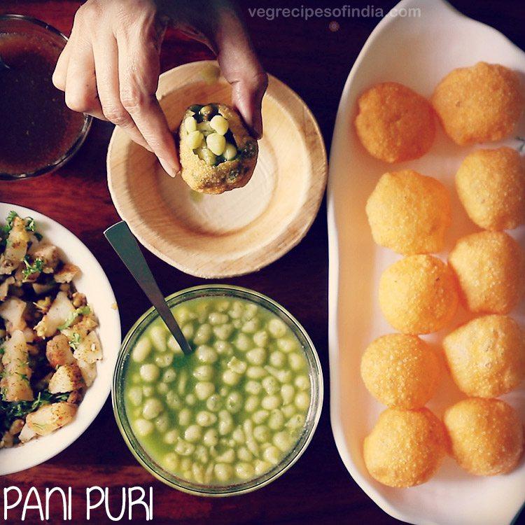 mumbai style pani puri recipe, how to make pani recipe for ...