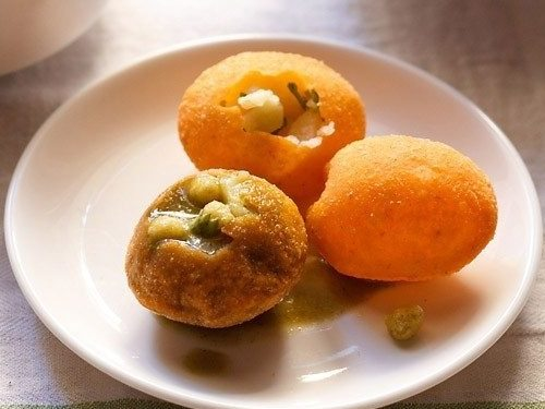 how to make pani puri at home in telugu