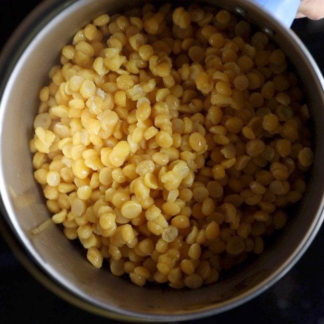 chana dal for making bobbatlu recipe