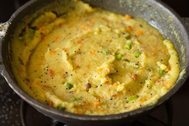 making rava kichadi recipe
