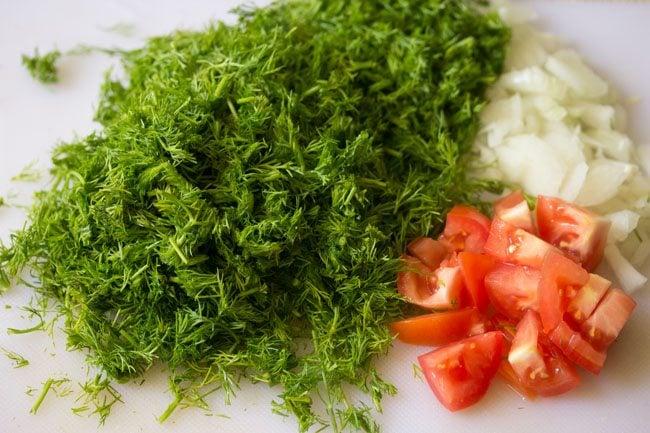 making suva moong dal sabzi recipe