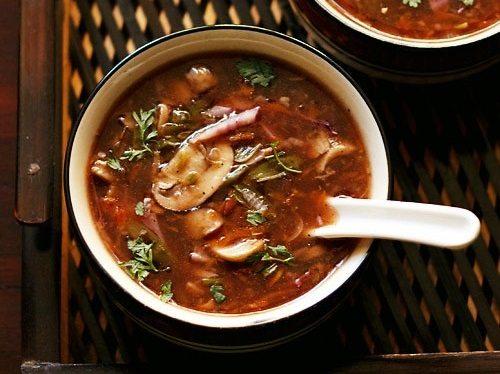 veg hot and sour soup
