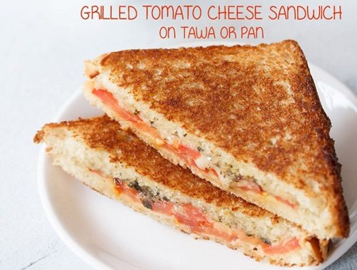 tomato cheese sandwich recipe