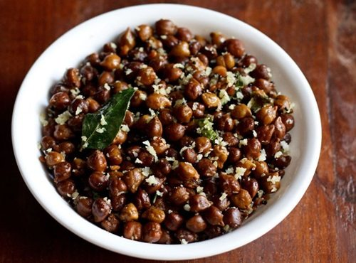 kala chana sundal recipe