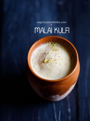 malai kulfi recipe, how to make malai kulfi recipe | matka kulfi recipe