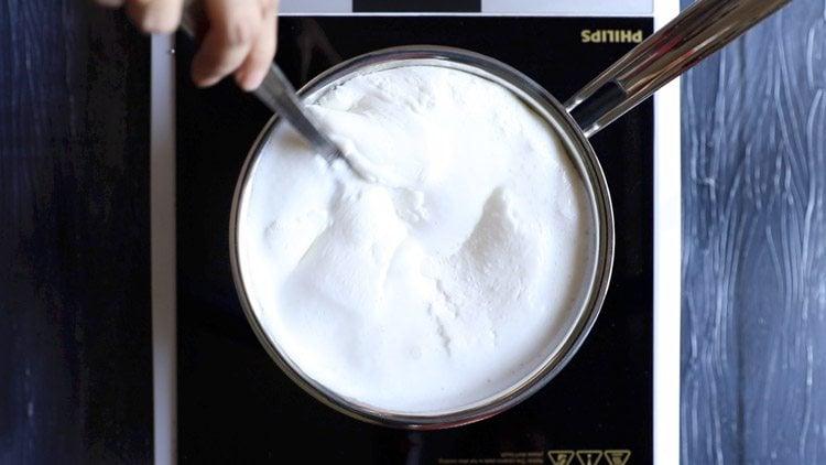 milk to make malai kulfi recipe