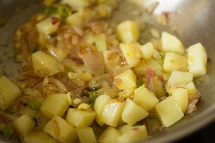making methi bhaji recipe