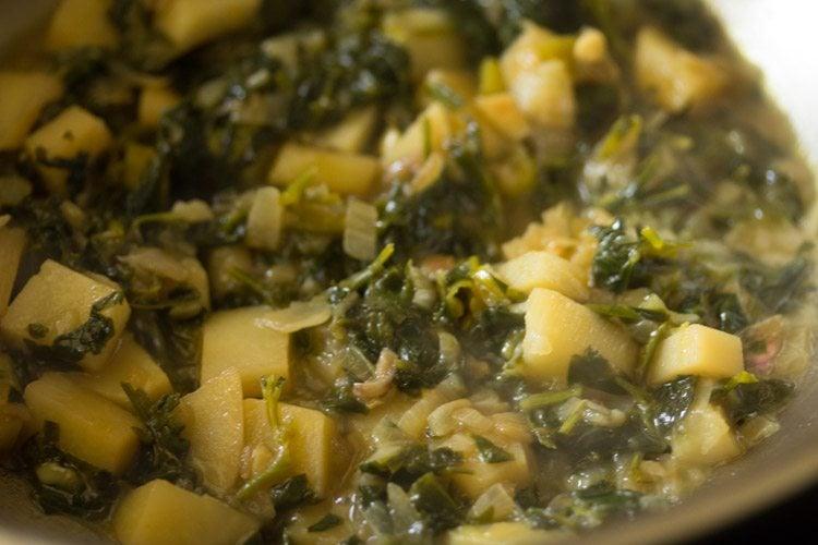 methi bhaji recipe