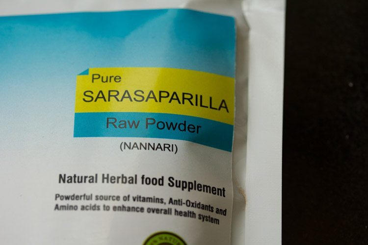 nannari powder to make nannari syrup recipe