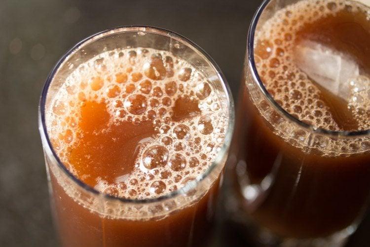 preparing nannari syrup recipe