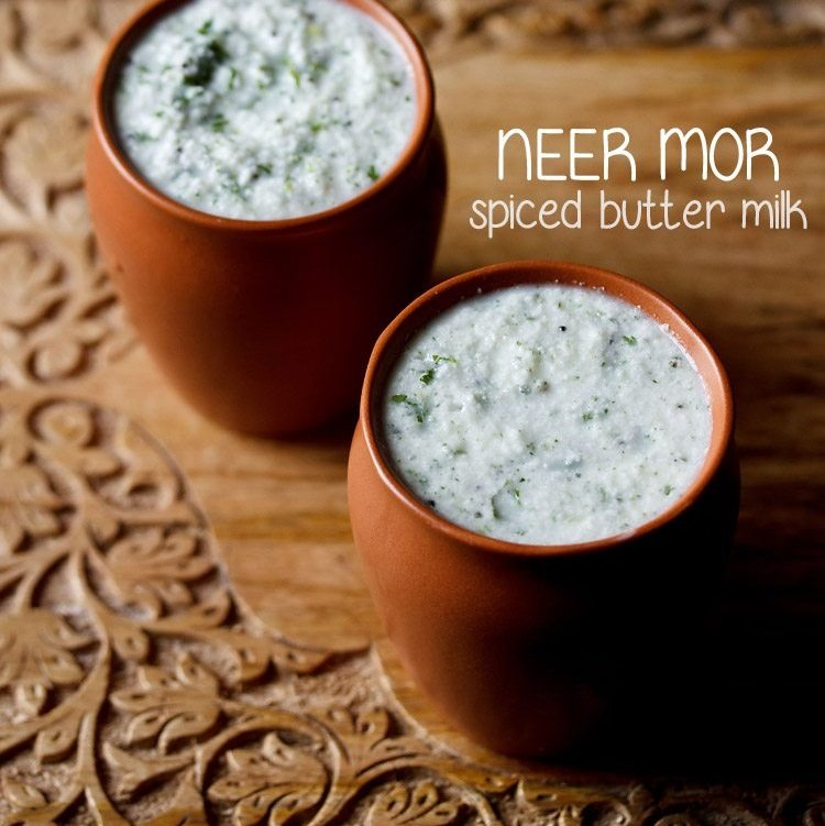 neer moru recipe, spiced buttermilk recipe, neer mor recipe