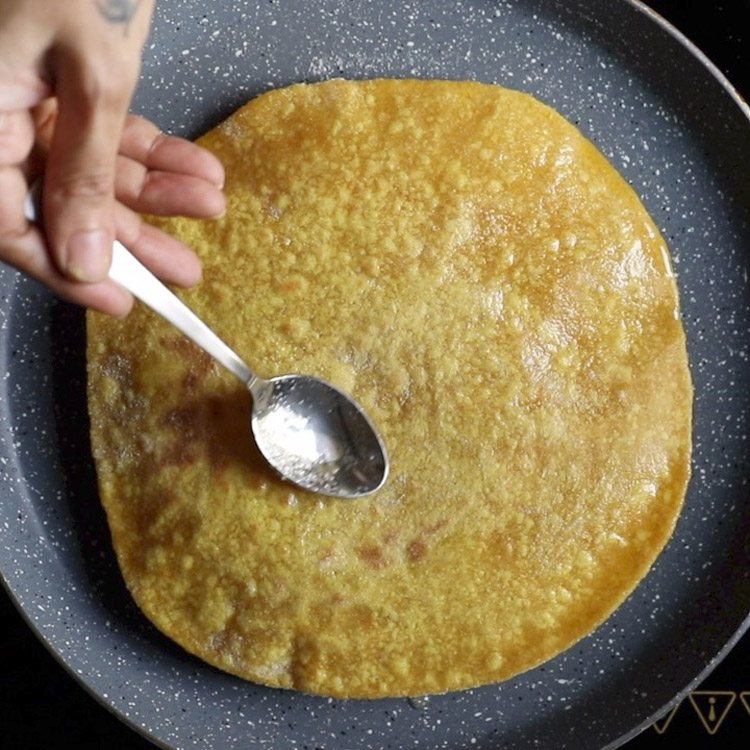preparing puran poli recipe