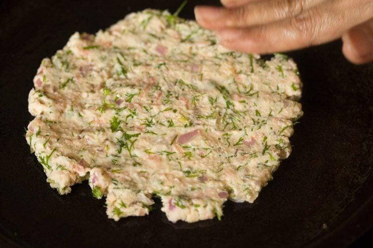 making akki roti recipe