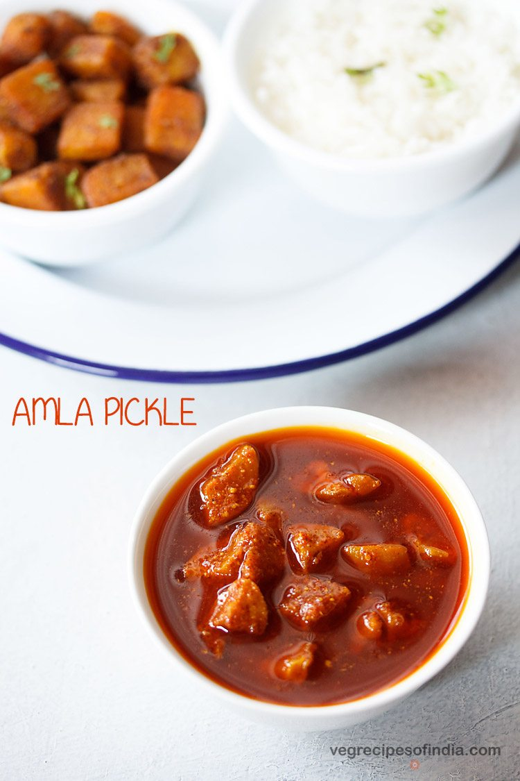 amla avakaya recipe, amla pickle recipe