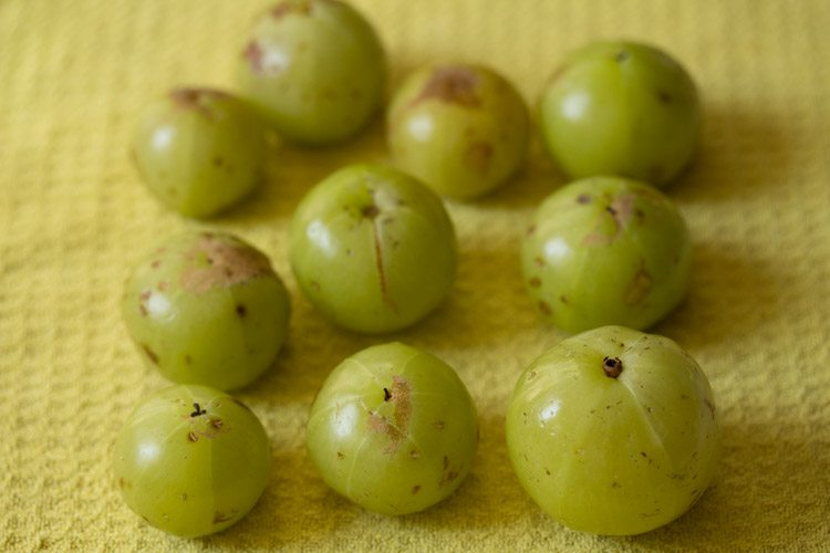 amla or indian gooseberry for amla avakaya