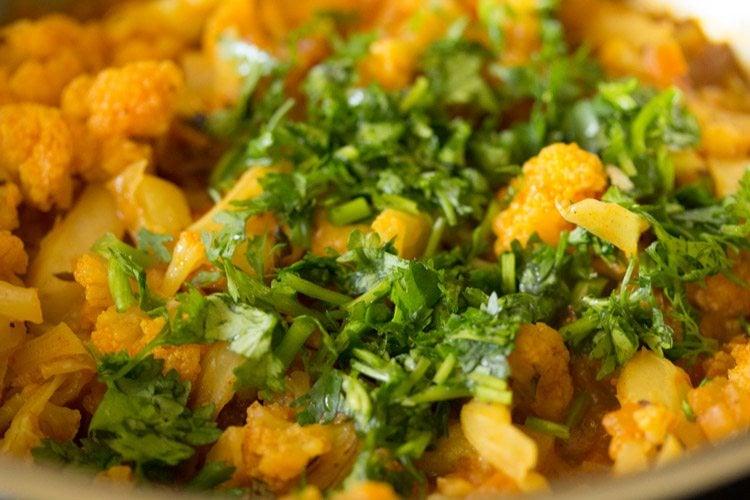 cauliflower curry recipe, gobi curry recipe