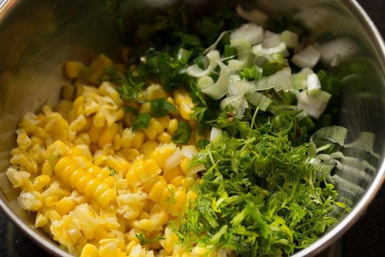 making sweet corn salsa recipe