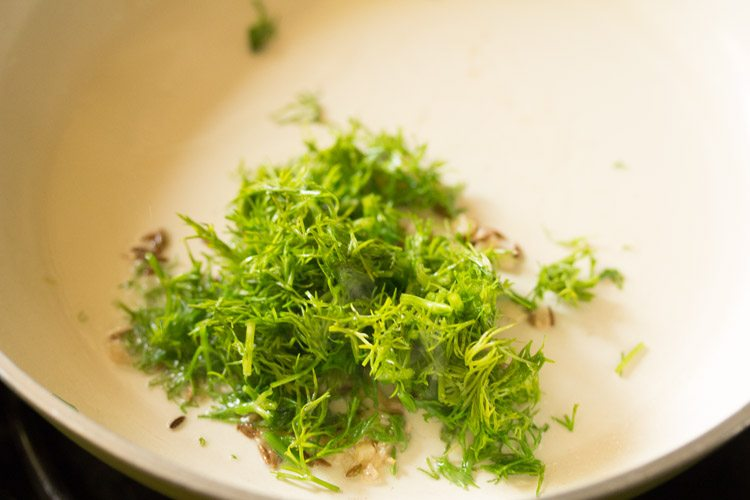 making dill leaves recipe