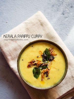 parippu curry