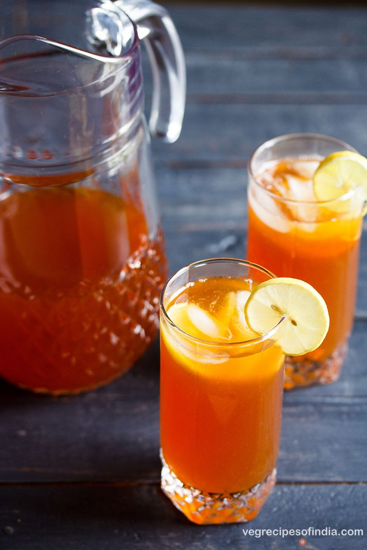 Lemon Iced Tea Recipe How To Make Lemon Ice Tea Easy