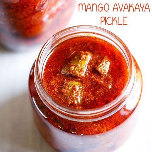 andhra mango pickle recipe, avakaya recipe, andhra avakaya pickle recipe