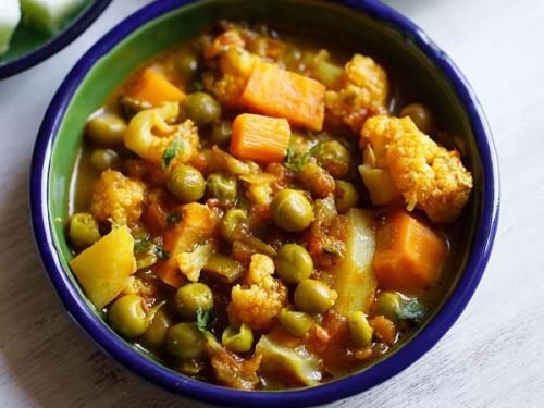 mix veg recipe