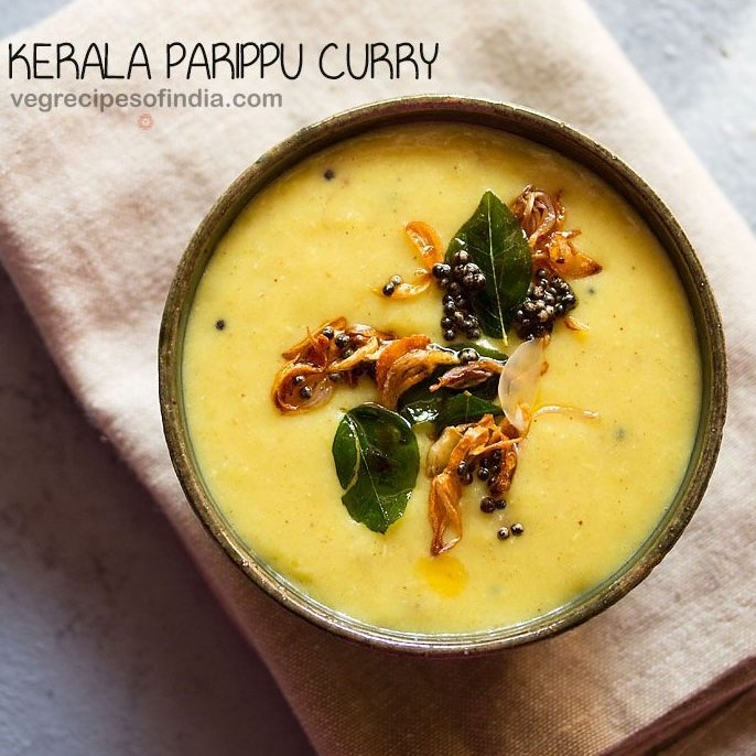 parippu curry recipe, moong dal curry recipe